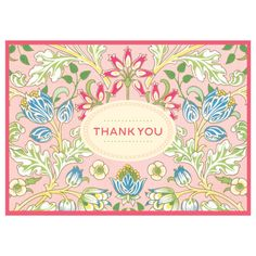 William Morris Thank You Notes from Galison. #Galison #WilliamMorris #ThankYou #EvansAndHall
