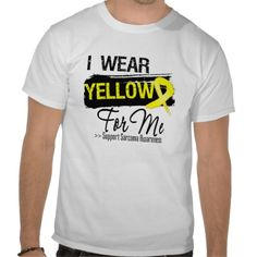 I Wear a Sarcoma Ribbon For Me Awareness shirts created by cancerapparelgifts.com