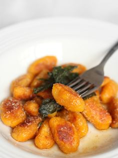 The Little Teochew: Singapore Home Cooking: Pumpkin Gnocchi