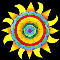 here comes the sun ♥ Winter Solstice Sun