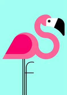 F is for flamingo. I love flamingos ❤️ Flamingo Logo, Flamingo Art, Pink Flamingos, Flamingo Vector, Walpapers Iphone, Creature Picture, Animal Alphabet, Art Graphique, Bird Art