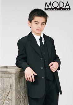 Boys+Suit+BLACK+Infant+Toddler+Children+Teen+Suit
