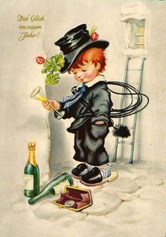 Soloillustratori: Search Results for Josefine Batke-Koller Vintage Halloween Cards, Victorian Halloween, Vintage Christmas Cards, Xmas Cards, Halloween Illustration, Halloween Drawings, Halloween Pictures, Christmas Pictures, Cute Images