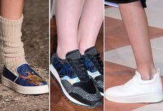 Дизайнерские сникерсы - тенденции обуви осень/зима 2015-2016