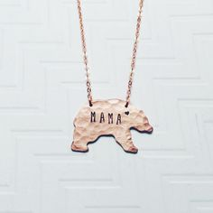 #MamaBear Necklace p
