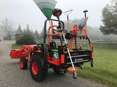 Kubota Compact Tractor, Sub Compact Tractors, Small Tractors, Trailer Storage, Utility Trailer, Landscaping Equipment, Lawn Equipment, Heavy Equipment, Compact Tractor Attachments