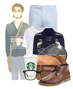 """Modern Eugene"" by disneyice ❤ liked on Polyvore featuring Big Baby, Polo Ralph Lauren, Raquel Allegra, Alessi, CO, Oliver Peoples, Alfani and modern"