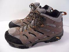 Men's Merrell Continuum Moab Mid XCR Gortex Hiking Trail Ankle Boots Tan-Sz. 13 #Merrell #HikingTrail