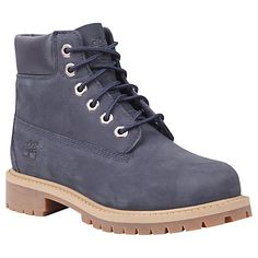 Buy Timberland Classic Waterproof Nubuck Boots, Navy Online at johnlewis.com