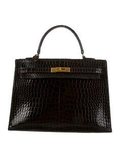2fe72697d13 Crocodile Kelly Sellier 35. New HandbagsHermes ...