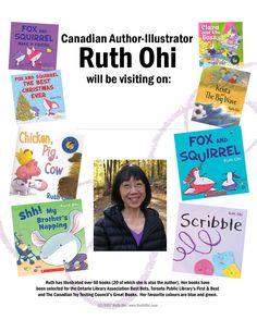 Ruth Ohi Visits Splash Page.
