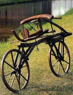 Baron Karl Drais, Dandy Horse inventor, precursor to the bicycle