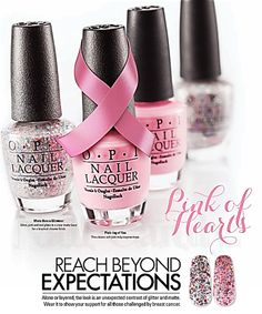 OPI Pink of Hearts BCA 2013 Collection - Will be finding these and buying them.