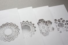 Love this papercut greeting card set!! Can't wait to try my own!