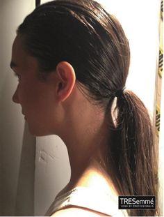 Clásica Ponytail #hairstyle #MBFW #TRESemmé