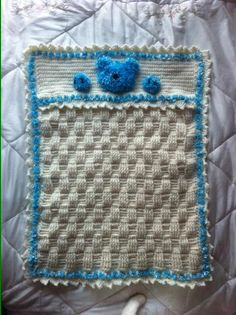 Crochet blanket project on Craftsy.com