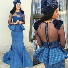 traditional wedding dresses 2017 for african - Styles 7 African Wedding Dress, African Print Dresses, African Print Fashion, African Fashion Dresses, African Dress, African Weddings, Xhosa Attire, African Attire, African Wear
