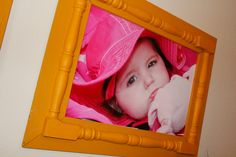 Picture frame  spindles by Cutipiethis on Etsy
