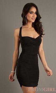 Short sleeved ruched dress black, royal blue, white, red, purple, fuchsia, and orange