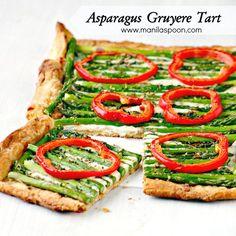 ... Tart with Gruyere | Yummo! | Pinterest | Asparagus Tart, Asparagus and