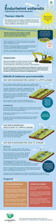 Endurheimt votlendis - unnið fyrir Landgræðsluna / Wet land restoration in icelandic, made for The Soil Conservation Service of Iceland (SCSI) - www.land.is