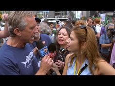Whoah! You gotta watch RFK Jr. LOSE IT when Michelle Fields asks him to curb his OWN carbon footprint! » The Right Scoop -
