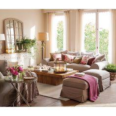 💖 Source: westwing.es #pintrest #love #pink #floral #flowers #flower  #luxury #style #room #beauty #pretty #fashion #interiordesign #interior #design #decor #decoration #home #house #homedecor #instahomes #classic #ديكور #اثاث #غرفه#الكويت#تصميم_داخلي#