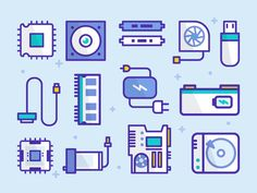 Tech Pattern - Best #icons http://iconutopia.com/best-icons-of-the-week-week-17/