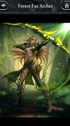 A very sexy forest archer...!!!