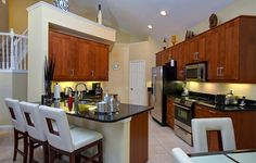 Our IKEA Share Space fan has a great open and contemporary ADEL medium brown style kitchen!