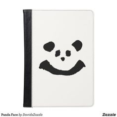 Panda Face Tablet Folio  Available on more products! Type in the name of the design in the search bar on my Zazzle Products Page. Thanks for looking!   #phone #tablet #case #laptop #sleeve #wallet #folio #folding #accessory #gear #electronic #computer #fun #zazzle #buy #sale #cute #cuddly #panda #bear #cartoon #illustration #black #white #drawing #nature #planet #earth #animal #friend