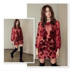 For love and lemons dress red Gorgeous like a new For Love and Lemons Dresses