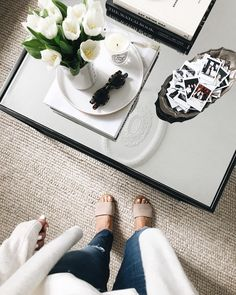 How to Style Your Coffee Table, According to Nate Berkus' Team
