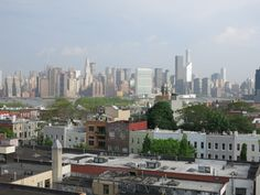 Skyline Manhattan, Reise | Jules & Pi Rooftop Brooklyn Greenpoint