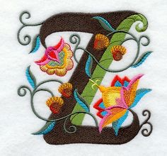 Jacobean Letter Z (5 Inch), my next tattoo
