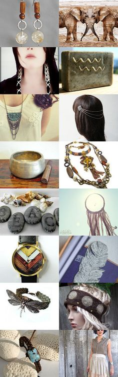 Elegant Boho Gift Ideas and Stocking Stuffers by Margie Sarrao on Etsy--Pinned with TreasuryPin.com