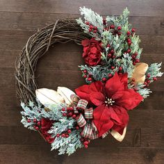 THANK YOU! For visiting Branch and Bloom! I truly love creating beautiful wreaths with quality to last season after season for you! I use only realistic high quality silks and believe in creating something you will love! The wreath pictured about is made on an 18 inch grapevine base and