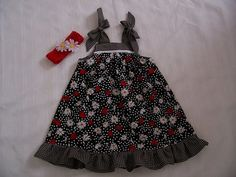 Baby Girl Dress size 12 mos. by sewingmissdaisy on Etsy