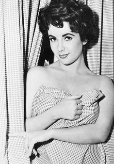 """Elizabeth Taylor in """"Rhapsody"""" (MGM, 1954). The epitomy of Class."""