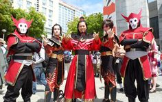 The firelord family!
