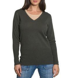 Cashmere & Merino V-Neck Sweater