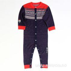 Marius Wool Pyjamas Blue
