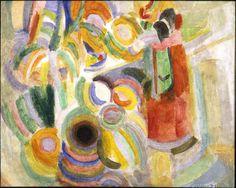 'Il cubismo orfico di Robert Delaunay' R. Crosio | R. DELAUNAY, study for 'La grande portugaise', 1915, oil and wax paint on plywood cm 61 x 49 from GIAN ENZO SPERONE, Sent (CH) #flashbackfair #exhibitors #turin #flashback16 #thenewsyncretism #allartiscontemporary