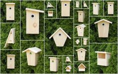 budky pro ptacky - ruzne druhy Geocaching, Bird Houses, Woodworking Projects, Calendar, Holiday Decor, Outdoor Decor, Home Decor, Gardening, Little Birds