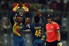 Jason Roy wasn't pleased with the umpire's lbw verdict, England v Sri Lanka, World T20 2016, Group 1, Delhi, March 26, 2016
