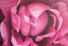 ROSA (2005) acrilico su tela 100 x 70  disponibile