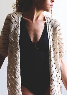 Summer kimono — trust the mojo Summer Kimono, Lace, Crochet, Tops, Women, Fashion, Tricot, Moda, Women's