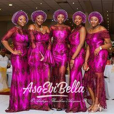 AsoEbiBella presents – The Latest Aso Ebi Styles -Vol. 195. - BellaNaija