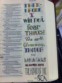 Bible journal 15/11/15