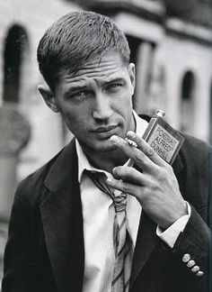 Tom Hardy... if they'd shown a little more of this guy in the Dark Knight Rises, I'd probably feel for Bane a little more... :)